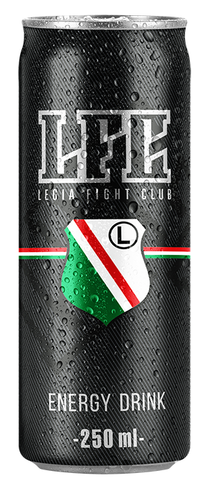puszka Legia Fight Club Energy Drink